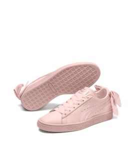 Chaussures cuir avec noeud basket BOW