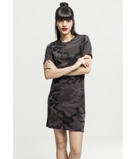 Robe t-shirt camouflage grande taille