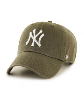 Casquette 47 Brand New York Yankees Clean Up Kaki Olive