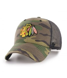 Casquette trucker Chicago Blackhawks BRANSON CAMO