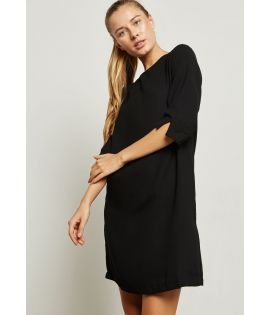 Robe Only Laura 7/8 Short Dress Noir