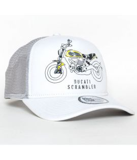 Casquette à filet DUCATI BIKE