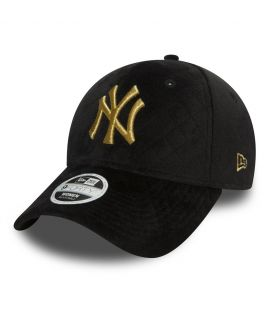 Casquette incurvée femme matelassée New York Yankees WINTER PACK 9FORTY