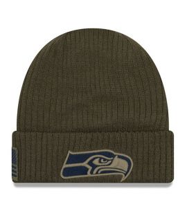Bonnet doublé polaire Seattle Seahawks SALUTE TO SERVICE