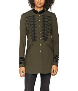 Veste Mi-Longue Vero Moda Sign 3/4 Jacket Olive