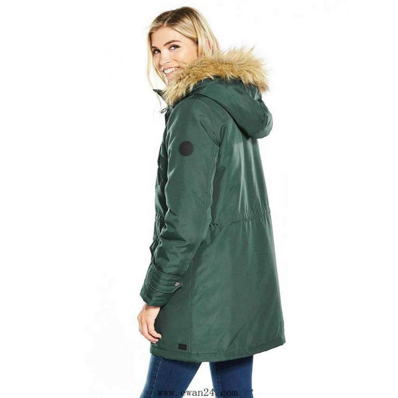 f6fed04d79152 Parka Femme Vero Moda Track Expedition 3 4 Vert - Prestige Center