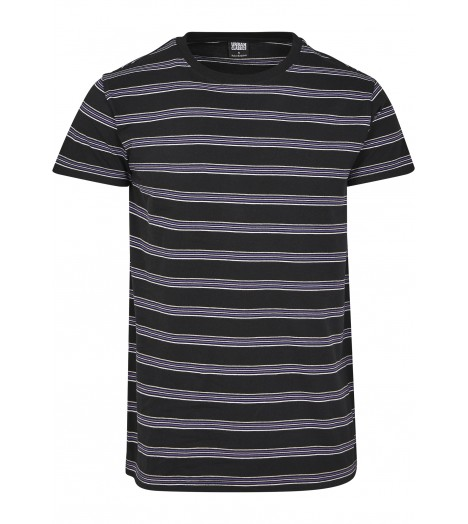 T-shirt rayures multicolores