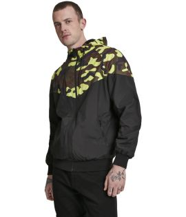 Pattern Arrow Windrunner black/frozenyellow camo 3XL