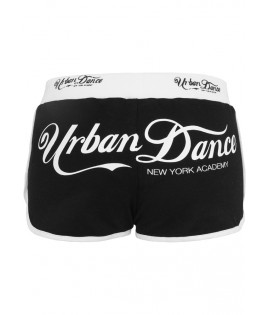 Mini-short Urban Dance NY Academy Noir - Blanc Hot Pant