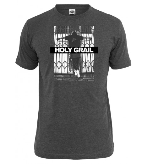 T-shirt MISTER TEE Charbon Holy Grail