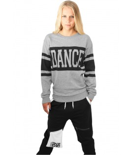 Sweat Crewneck léger URBAN DANCE Noir-Gold Hip Hop Danse
