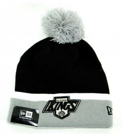 Bonnet Pompon New Era Oakland Raiders Brown CuffdChaos