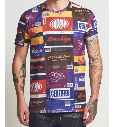 T-shirt Criminal Damage Chocs Tee Multi