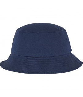 Bob Flexfit Bleu marine Unicolore Basic Bucket Hat