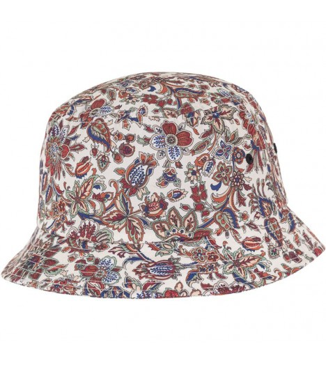 Bob Flexfit Flowers Beige Fleurs Bucket Hat