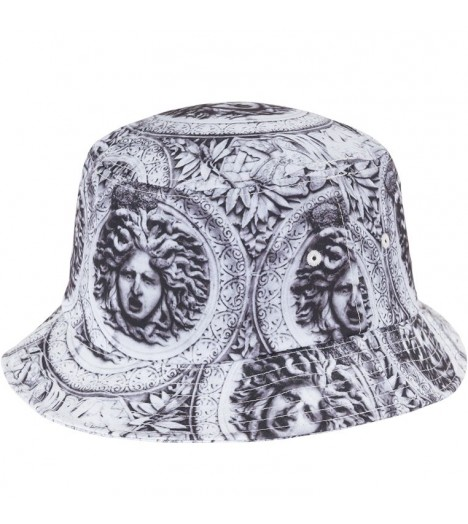 Bob Flexfit Sun King Bucket Hat Noir - Blanc