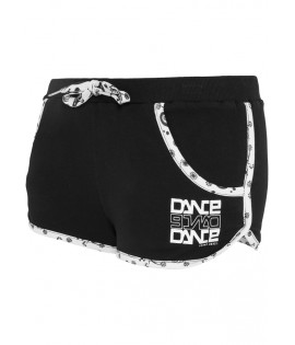 Mini-short Bandana Urban Dance Noir Paisley Hot Pant