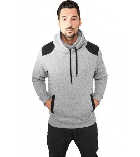 Sweat Urban Classics Col Haut Gris Diamond