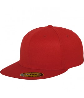 Casquette Flexfit Premium 210 Fitted Rouge 6210