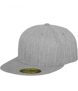 Casquette Flexfit Premium 210 Fitted Gris chiné 6210