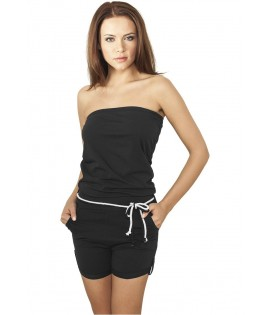 Ensemble Urban Classics Noir Hot Jumpsuit