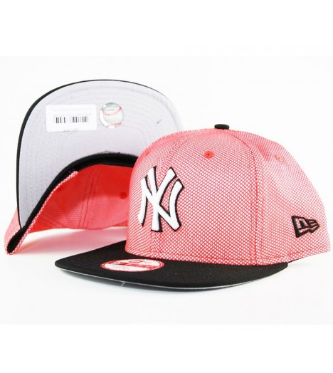 Casquette New Era NY Yankees Mesh Crown Snapback Rouge