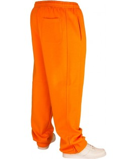 Bas de jogging URBAN CLASSICS Kids Orange Large molletonné