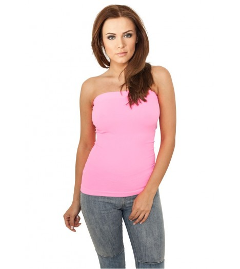 Bustier Urban Classics Rose Fluo Tube