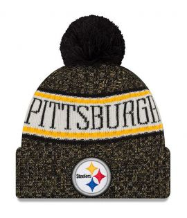Bonnet pompon Pittsburgh Steelers  SPORT KNIT