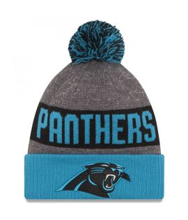 Bonnet pompon Carolina Panthers SPORT KNIT
