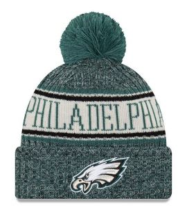 Bonnet pompon Philadelphia Eagles  SPORT KNIT