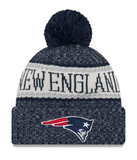 Bonnet pompon New England Patriots SPORT KNIT