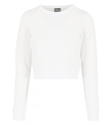 Sweat Court Femme Urban Classics Neoprene Blanc