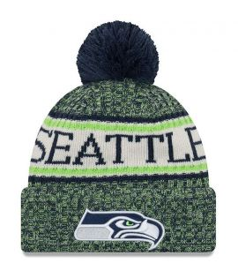 Bonnet pompon Seattle Seahawks  SPORT KNIT