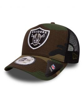 Casquette trucker Oakland Raiders CAMO TEAM