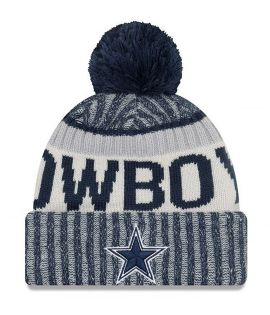 Bonnet pompon Dallas Cowboys SPORT KNIT