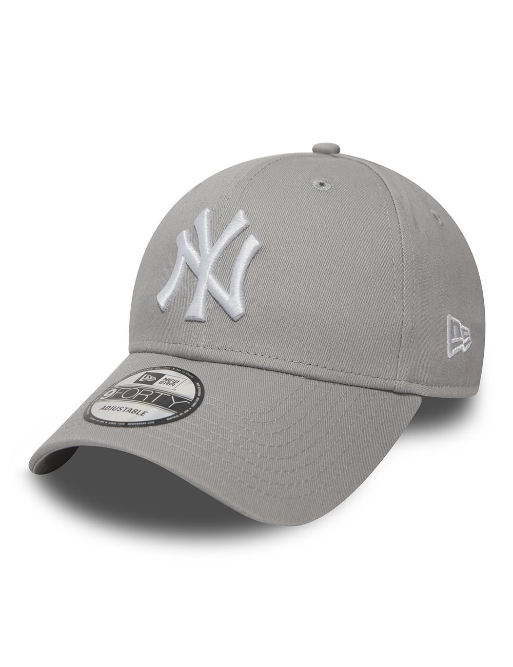 3eaa0e5c36d5d Casquette New Era Enfant NY YANKEES Gris Child 9Forty