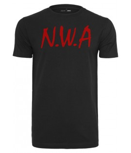 T-shirt NWA Straight Outta Compton Noir x Mister Tee