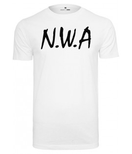 T-shirt NWA Straight Outta Compton Blanc x Mister Tee
