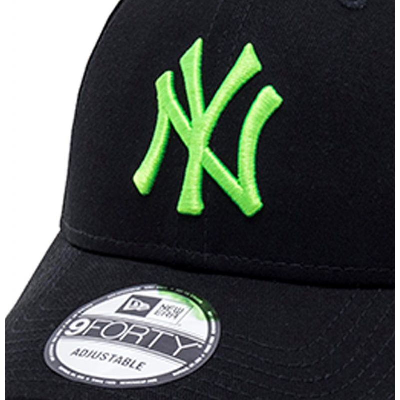 666ddec919a18 Casquette Incurvée New Era New York Yankees League Essential 9Forty ...
