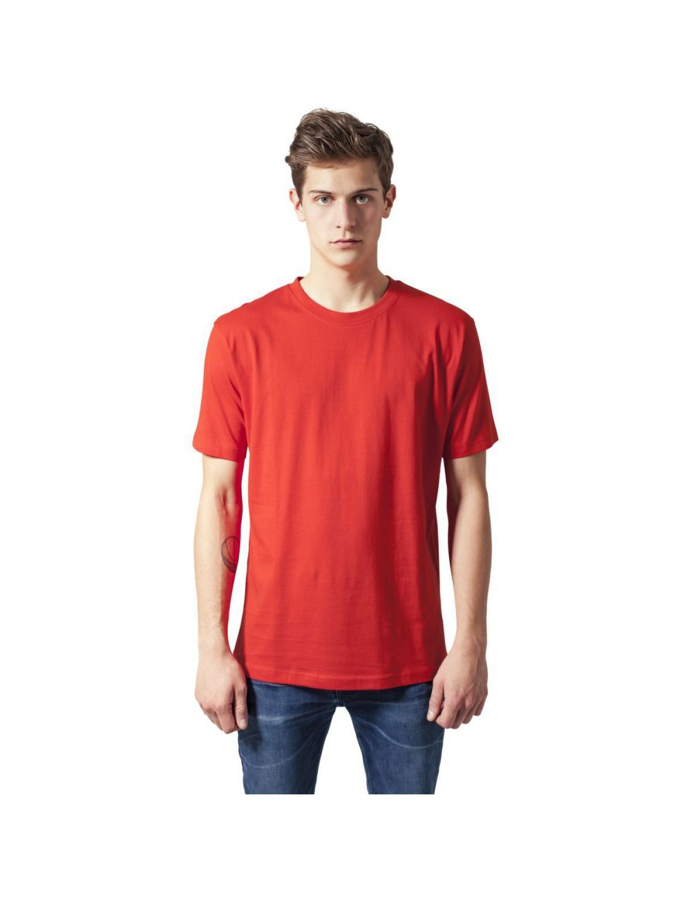 T-shirt col rond jersey uni