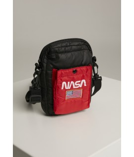 Sacoche NASA Festival Bag noir/rouge