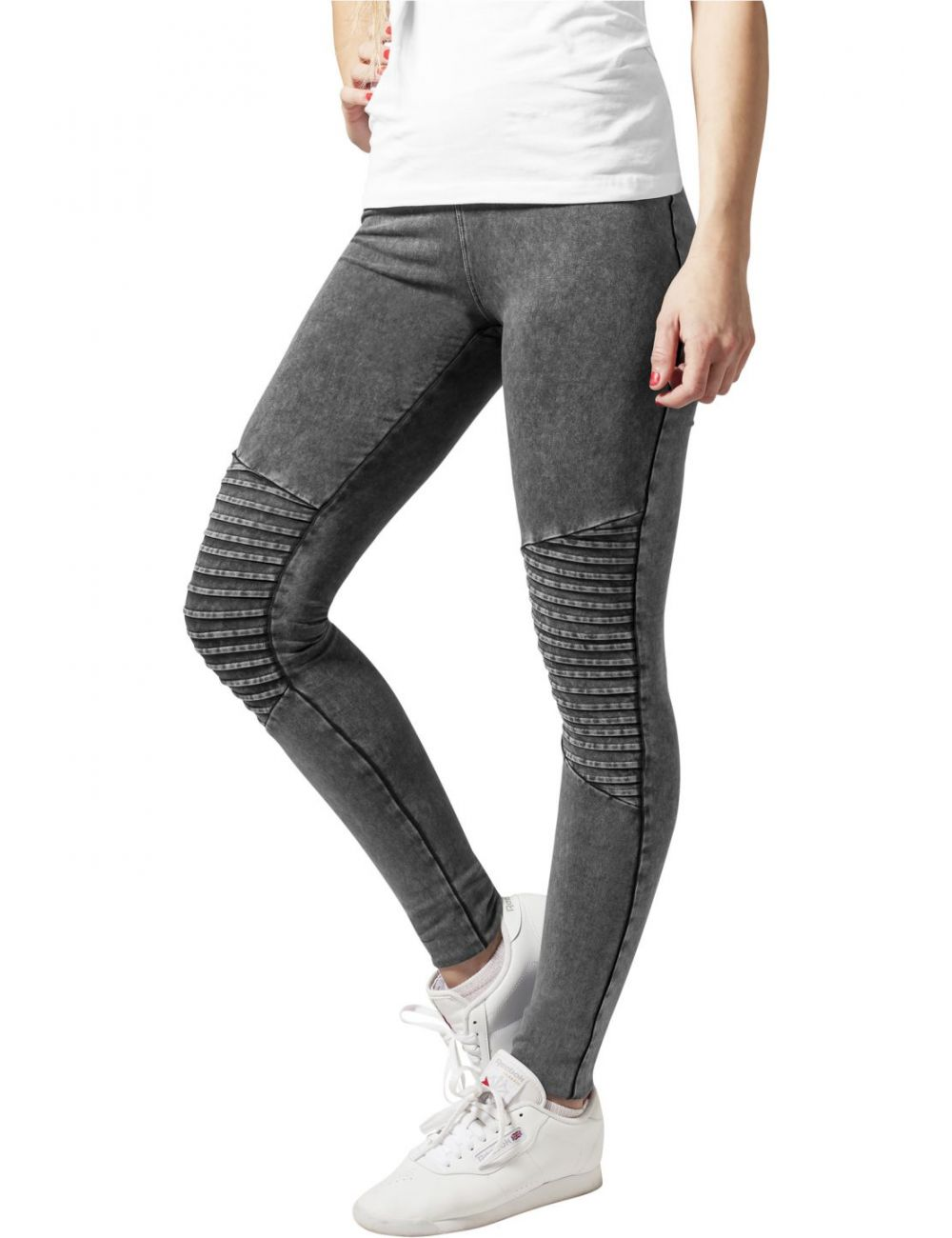 Legging denim jersey
