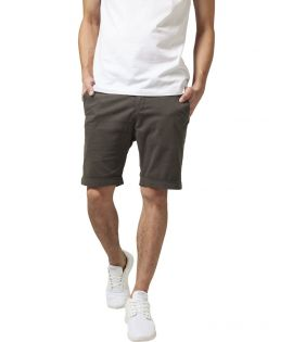 Short chino retroussé stretch