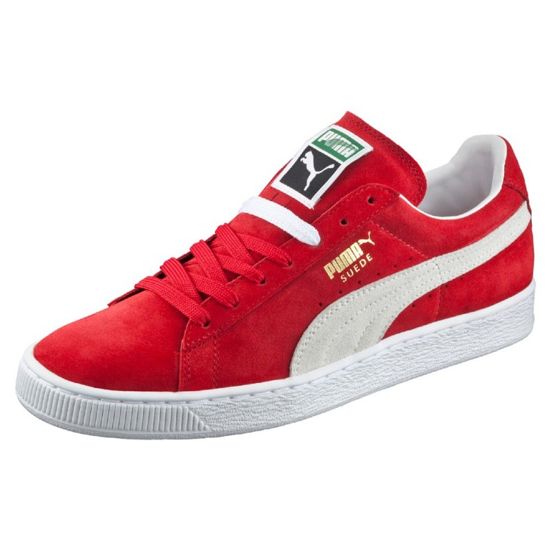 puma suede rouge semelle rouge