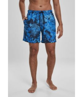 Short de bain Blue Flower