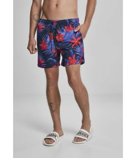 Short de bain Red Flower