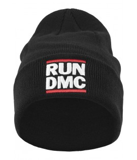 Bonnet Run Dmc Logo Beanie Noir
