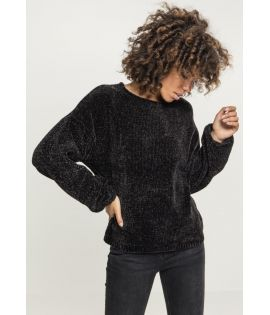 Sweat ample en maille chenille