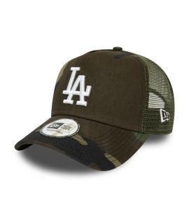 Casquette Trucker New Era Los Angeles Dodgers Tonal A Frame Bleu Marine